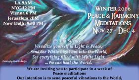 Peace Meditation Week