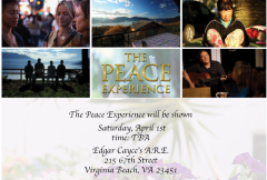 The Peace Experience at Edgar Cayce Center, VA, April 1