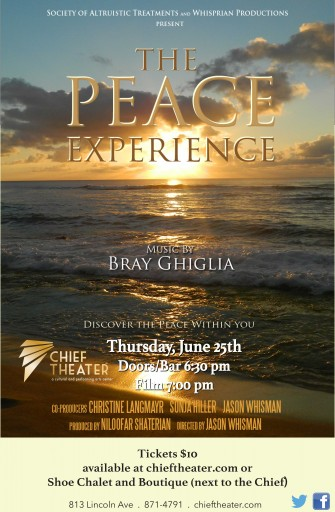 Special Engagement of The Peace Experience at Steamboat Springs, CO!